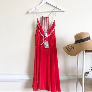 NWT Anthro Girls from Savoy Mitsy Silk Mini dress